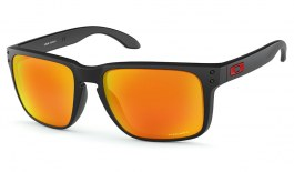 Oakley Holbrook XL Sunglasses - Matte Black / Prizm Ruby