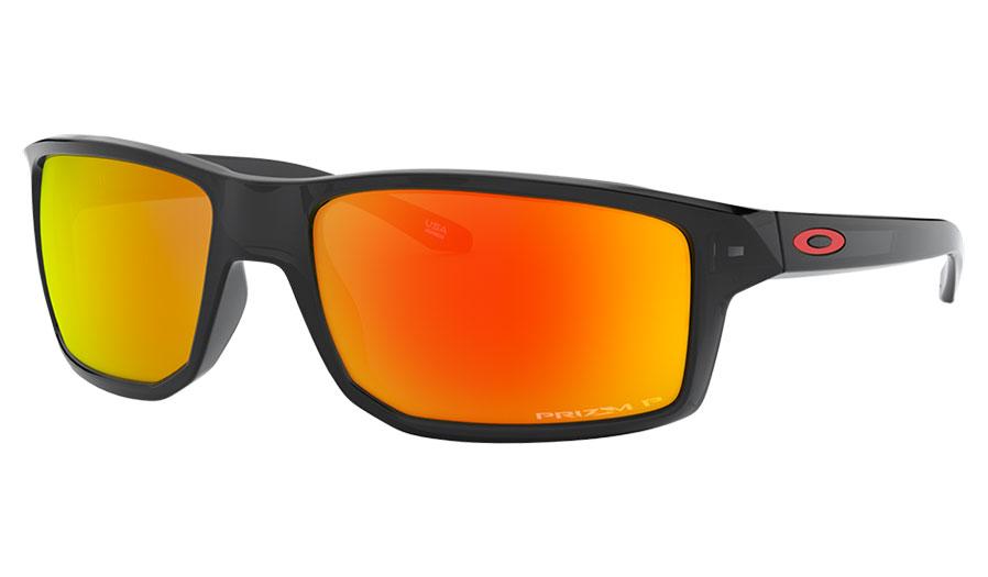 Oakley Gibston Sunglasses - Black Ink / Prizm Ruby Polarised