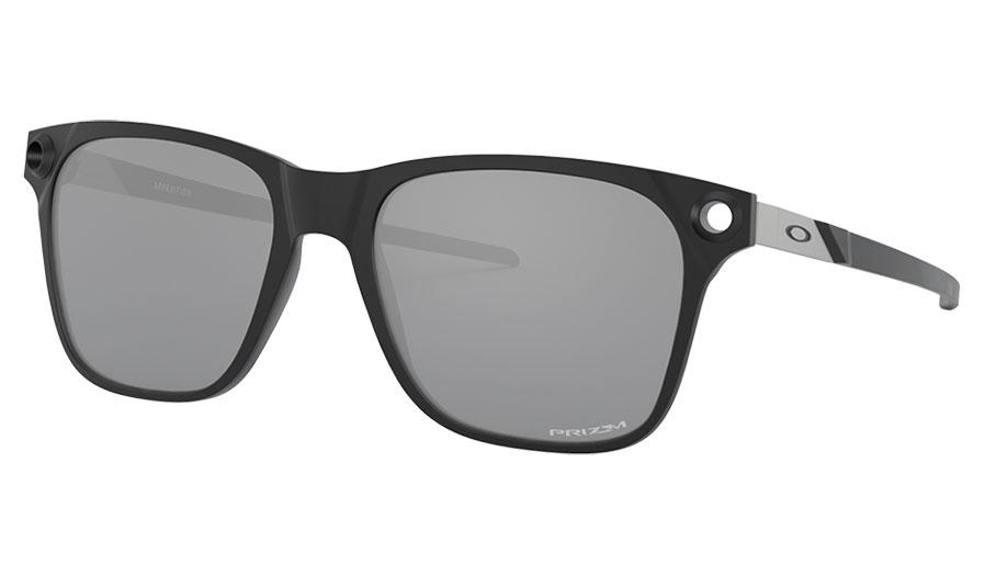 Oakley Apparition Sunglasses - Satin Black / Prizm Black
