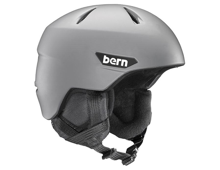 Bern Weston Ski Helmet - Matte Grey