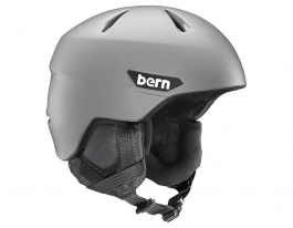 Bern Weston Ski Helmet - Matte Grey