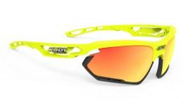 Rudy Project Fotonyk Prescription Sunglasses - Clip-On Insert - Yellow Fluo Gloss / Multilaser Orange