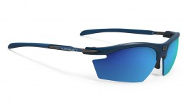Rudy Project Rydon Prescription Sunglasses - Clip-On Insert - Matte Navy Blue / Multilaser Blue