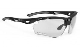 Rudy Project Propulse Prescription Sunglasses - Clip-On Insert - Matte Black / ImpactX 2 Photochromic Black
