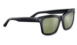 Serengeti Winona Sunglasses - Shiny Black / 555nm Polarised Photochromic
