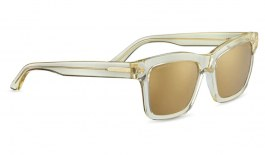 Serengeti Winona Sunglasses - Shiny Crystal Champagne / Drivers Gold Mirror Polarised Photochromic