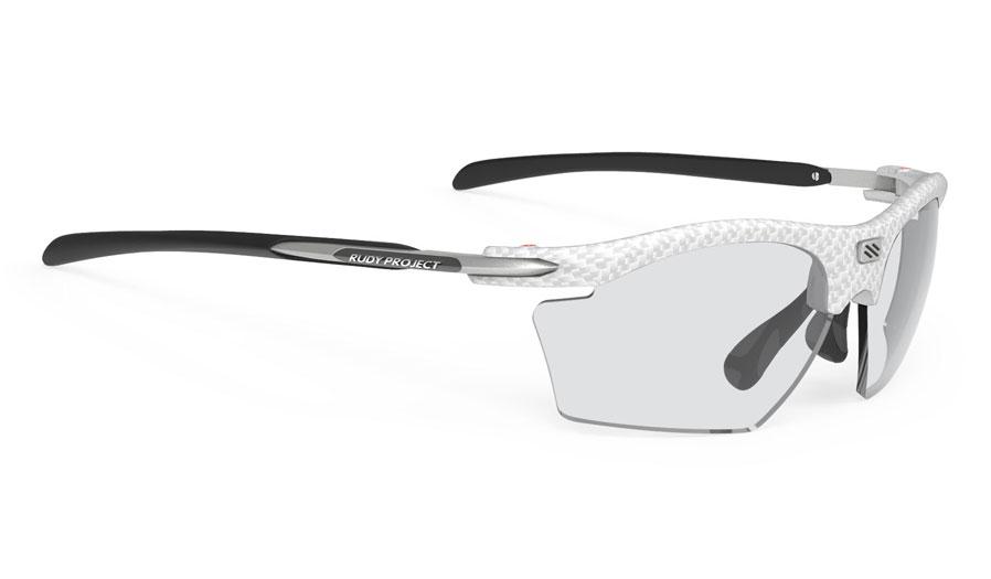 Rudy Project Rydon Slim Prescription Sunglasses - ImpactRX Directly Glazed - White Carbonium