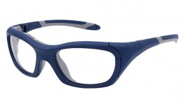 VerSport Hercules EVO Glasses - Matte Navy & Grey / Clear