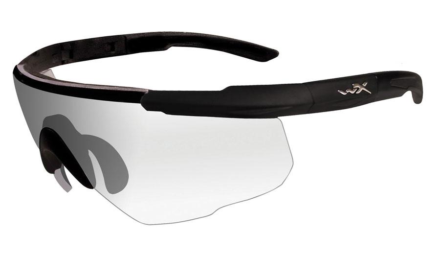 Wiley X Saber Advanced Sunglasses - Matte Black / Clear