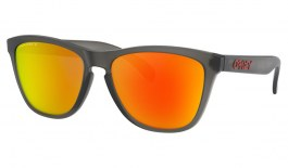 Oakley Frogskins Sunglasses - Matte Grey Smoke / Prizm Ruby Polarised