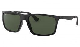 Ray-Ban RB4228 Sunglasses - Black / Green