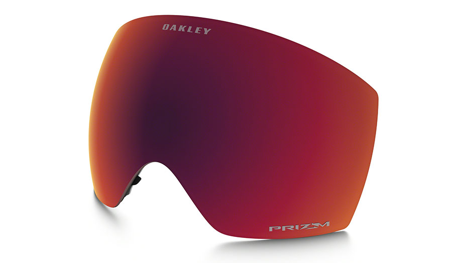 Oakley Flight Deck Ski Goggles Replacement Lens Kit - Prizm Torch Iridium