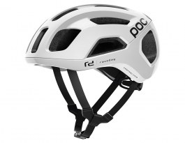 POC Ventral Air SPIN Road Bike Helmet - Hydrogen White Raceday
