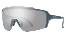 Smith Flywheel Sunglasses - Matte Iron / ChromaPop Platinum Mirror
