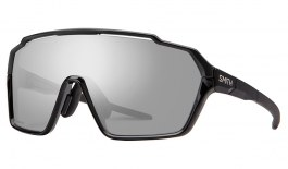 Smith Shift MAG Sunglasses - Black / ChromaPop Platinum Mirror + Clear