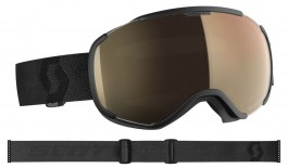 Scott Faze II Ski Goggles - Black / Light Sensitive Bronze Chrome Photochromic