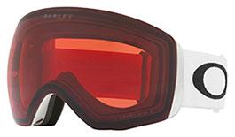 Oakley Flight Deck XL Prescription Ski Goggles - Matte White / Prizm Rose