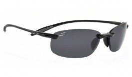 Serengeti Nuvola Sunglasses - Shiny Black / CPG Polarised Photochromic