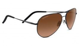Serengeti Carrara Sunglasses - Matte Dark Gunmetal / Drivers Gradient Photochromic
