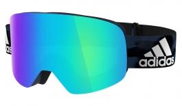 adidas ad80 Backland Ski Goggles - Mystery Blue / Blue Mirror
