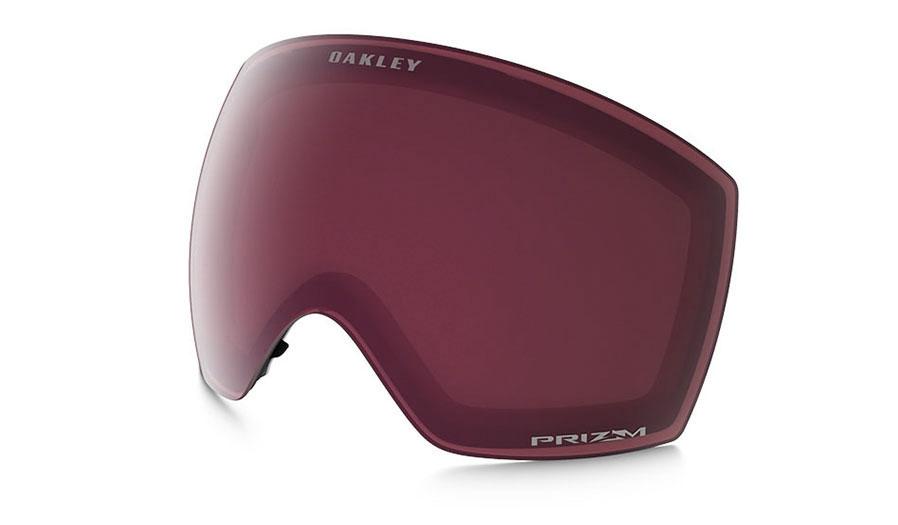 Oakley Flight Deck XM Ski Goggles Replacement Lens Kit - Prizm Dark Grey