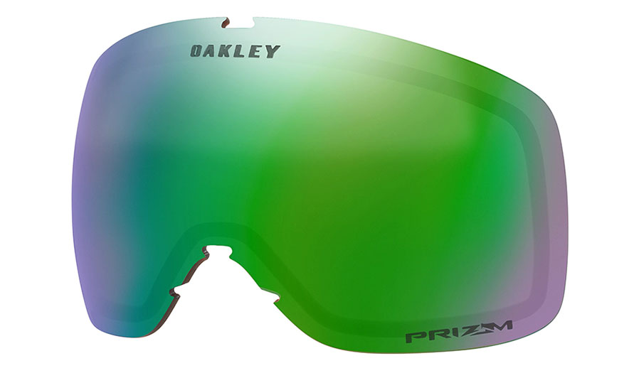 Oakley Flight Tracker XS Ski Goggles Replacement Lens Kit - Prizm Jade Iridium