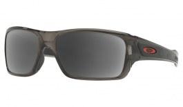 Oakley Turbine XS Prescription Sunglasses - Grey Smoke (Redline Icon)