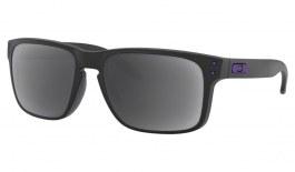 Oakley Holbrook Prescription Sunglasses - Matte Black (Violet Icon)