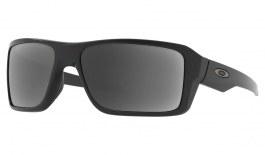 Oakley Double Edge Prescription Sunglasses - Matte Black (Gunmetal Icon)