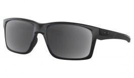 Oakley Mainlink XL Prescription Sunglasses - Polished Black (Gunmetal Icon)