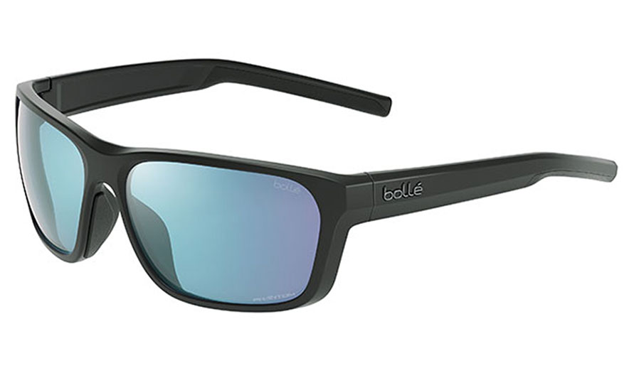 Bolle Strix Sunglasses - Matte Black / Phantom+ Polarised Photochromic