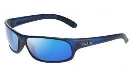 Bolle Anaconda Sunglasses - Matte Crystal Navy / Volt+ Offshore Polarised