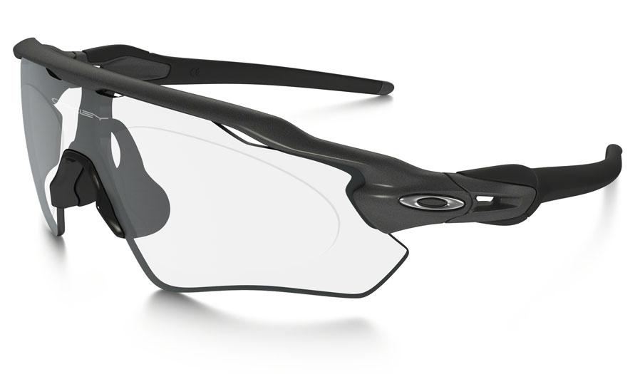 Oakley Radar EV Path Prescription Sunglasses - Steel