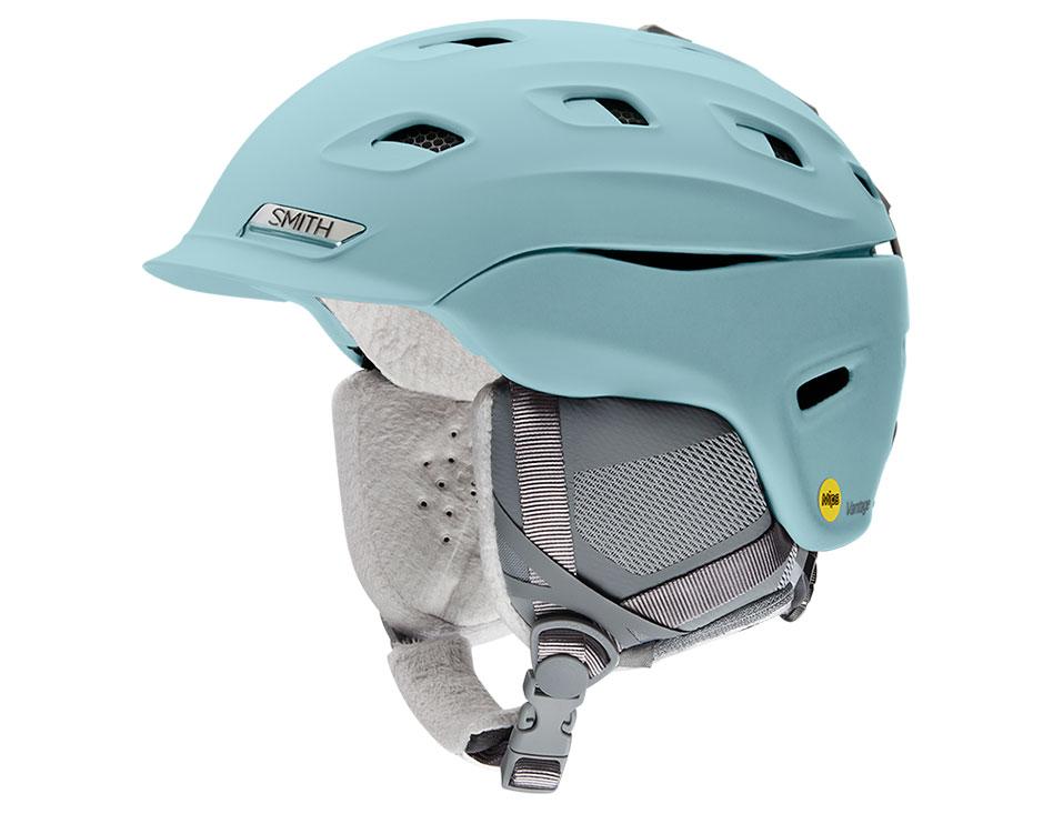 Smith Vantage Women's MIPS Ski Helmet - Matte Polar Blue