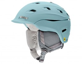 Smith Vantage Women's MIPS Ski Helmet - Matte Polar Blue