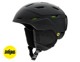 Smith Mission MIPS Ski Helmet - Matte Black
