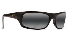 Maui Jim Peahi Prescription Sunglasses - Gloss Black