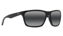 Maui Jim Makoa Prescription Sunglasses - Gloss Black