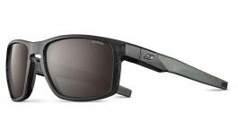 Julbo Stream Sunglasses - Translucent Black & Army / Spectron 3 Polarised