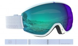 Salomon iVY Ski Goggles - White / All Weather Blue Photochromic