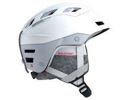 Salomon QST Charge W MIPS Ski Helmet - White Pop