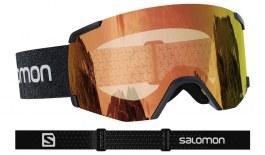 Salomon S-View Ski Goggles - Black / All Weather Red Photochromic