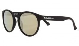 Red Bull Lace Sunglasses - Matte Black / Smoke Gold Flash Polarised