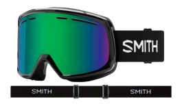 Smith Optics Range Prescription Ski Goggles - Black / Green Sol-X Mirror