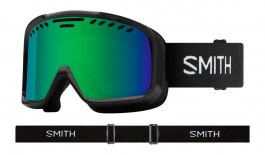 Smith Project Ski Goggles - Black / Green Sol-X Mirror