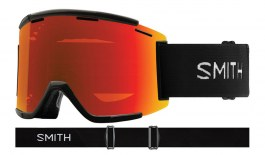 Smith Squad XL MTB Prescription Goggles - Black / ChromaPop Everyday Red Mirror + Clear
