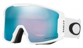 Oakley Line Miner Prescription Ski Goggles - Matte White / Prizm Sapphire Iridium