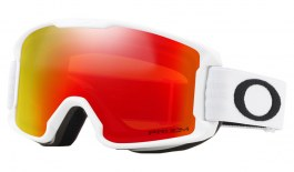 Oakley Line Miner Youth Ski Goggles - Matte White / Prizm Torch Iridium