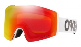 Oakley Fall Line XM Ski Goggles - Factory Pilot White / Prizm Torch Iridium