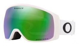 Oakley Flight Tracker XM Prescription Ski Goggles - Matte White / Prizm Jade Iridium
